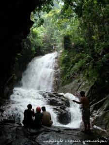 cascade à Gopeng